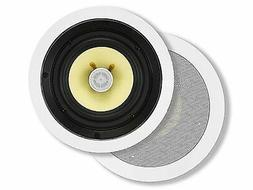 Monoprice Caliber In Ceiling Speakers 6.5 Inch Fiber 2-Way
