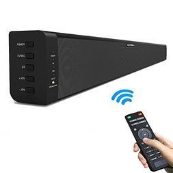 LONPOO 40-inch Sleek Soundbar Bluetooth Speaker for TV 2.0 C