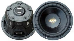 "2) NEW Lanzar MAXP104D 10"" 2400W Car Subwoofers Subs Power W"
