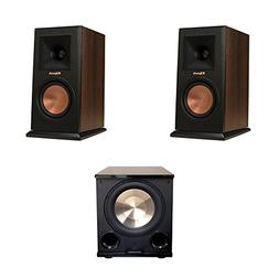 Klipsch 2 RP-160M Walnut Monitor Speakers, 1 BIC/Acoustech P