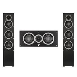 Elac 3.0 System with 2 Debut F5 Floorstanding Speakers, 1 De