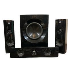 LG 3D Real Sound 4 Piece Surround Sound Speaker System+Sub W