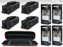4x Behringer P2 Personal In-Ear Monitor W/ 4x SE215CL Isolat