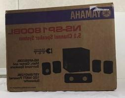 Yamaha 5.1 Channel Home Theater Speaker System NS-SP1800 BL