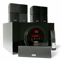 5.1 Channel Home Theater Speaker System - 300W Bluetooth Sur