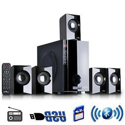 beFree Sound 5.1 Channel Surround Sound Bluetoot Speaker Sys