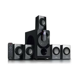beFree Sound 5.1 Ch Surround Sound Speaker System w Bluetoot