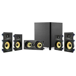 """TDX 5.1 Surround Sound Home Theater System, 6.5"""" In-Wall Spe"""