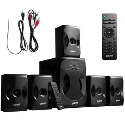 Frisby 5.1 Surround Sound Home Theater System with Subwoofer