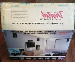 Digital Research 5.1 surround sound speaker system w/ subwoo