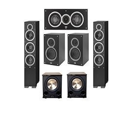 Elac 5.2 System with 2 Debut F6, 1 Debut C5 Center Speaker,