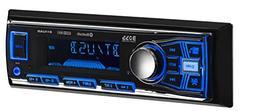 BOSS  Audio Single-Din Mech-Less Multimedia Player  - Blue