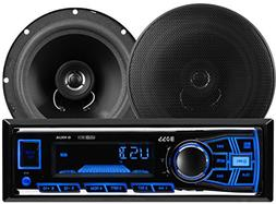 BOSS Audio 636CK Single Din, MP3/USB/SD AM/FM Car Stereo & 6