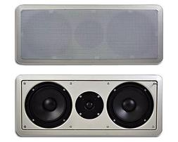 "Acoustic Audio CC6 In-Wall 6.5"" Center Channel Speaker In Ce"