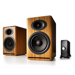 Audioengine P4 Passive Bookshelf Speakers and N22 Audio Ampl