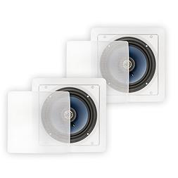 Blue Octave Home LS62 Square In-Ceiling Speakers