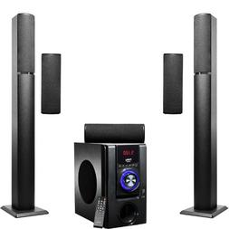 Frisby FS-6700BT 5.1 Surround Sound Tower Home Theater Speak