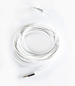 OMNIHIL Replacement 30ft 3.5mm Headset Audio AUX Extension C