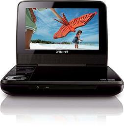 "Philips 7"" Portable DVD Player PET741B"