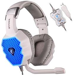 Sades A70 Wired USB 7.1 Virtual Surround Stereo Sound Gaming