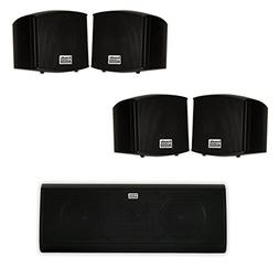 Acoustic Audio AA321B and AA40CB Indoor Speakers Home Theate
