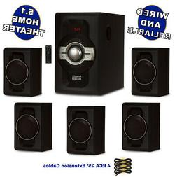 Acoustic Audio AA5240 Home Theater 5.1 Bluetooth Speaker Sys