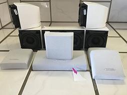 Bose acoustimass 10 speakers white