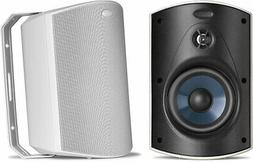 Polk Audio Atrium 5 Outdoor Speakers with Powerful Bass  - A