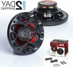 BOSS Audio CH6530 Car Speakers - 300 Watts Of Power Per Pair