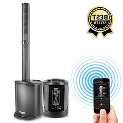 Digital Audio Speaker Tower Amplifier - 400 Watt Floor Stand