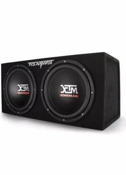 MTX Audio Terminator Series TNE212D 1,200-Watt Dual 12-Inch
