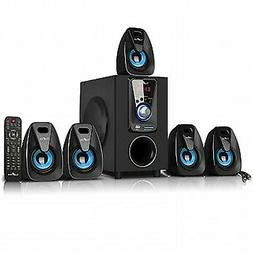 beFree 5.1 Channel Surround Sound Bluetooth Home Theater Spe
