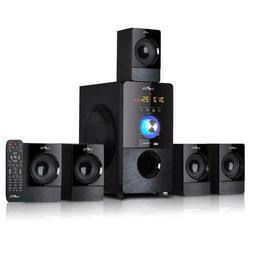 beFree Sound 5.1 Surround Sound Bluetooth Speaker System , B