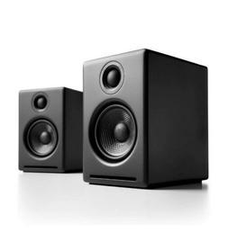 Black Audioengine A2+ Wireless 60W Powered Desk  Speakers, B