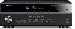 Yamaha RX-V385 5.1-Channel 4K Ultra HD AV Receiver with Blue