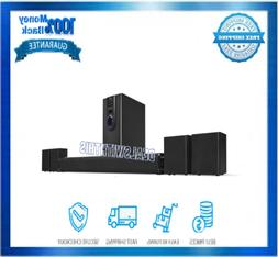 Bluetooth Home Theatre System Black 5.1 Channel Surround Sou