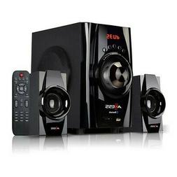 AXESS Bluetooth Mini System 2.1-Channel Home Theater Speaker