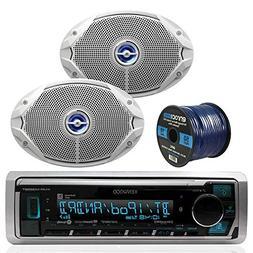 Kenwood Bluetooth Radio KMR-M315BT In-Dash Marine Audio Rece