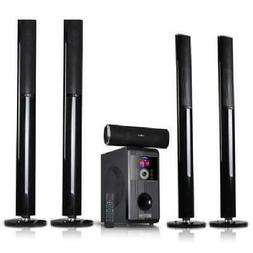 beFree Sound BLUETOOTH STAND SPEAKER SYSTEM 5.1 CHANNEL HOME