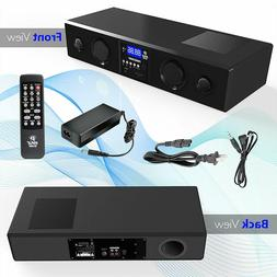 Bluetooth Pyle TV Soundbar 3D Surround Sound Speaker System