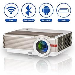 4200 Lumen LED Projector Bluetooth Home Theater HD Support 1