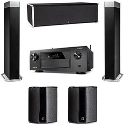Definitive Technology BP9080X 5 Speaker System with Denon AV
