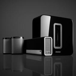 Brand-New SONOS 5.1 Surround Sound System - Includes SUB, PL