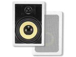 Monoprice Caliber 2-Way Fiber In-Wall Speakers - 8 Inch  Tit
