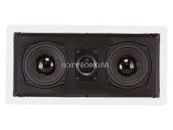 Monoprice Caliber In Wall Center Channel Speaker Dual 5.25 I