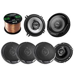 """3 Pairs Car Speaker Package Of 2x Kenwood KFC-1365S 5-1/4"""" 2"""