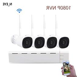 CCTV Wireless Security Camera System,N_EYE WIFI KIT 1080P HD