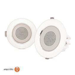Pyle Ceiling Speakers, In-Wall / In-Ceiling Dual 3.5-Inch Sp