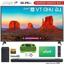"LG 75"" 4K HDR Smart LED AI UHD TV with Thin Q  with Bonus Hi"