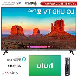 "LG 65"" Class 4K HDR Smart LED AI UHD TV w/ThinQ 2018 Model"